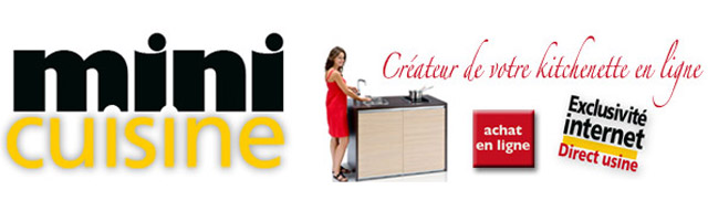 mini kitchenette quip e pour studio made in 15 eboutiques du cantal. Black Bedroom Furniture Sets. Home Design Ideas
