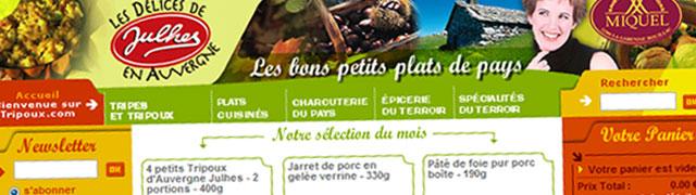 Tripoux.com : Charcuterie et plats cuisinés d'Auvergne