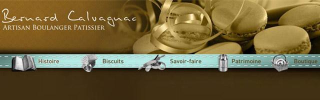 Pâtisserie Calvagnac : Biscuits du Cantal