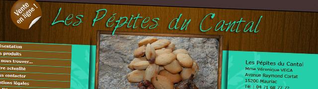 Les pépites du Cantal (Madeleines, craquants du Cantal et bourriols)