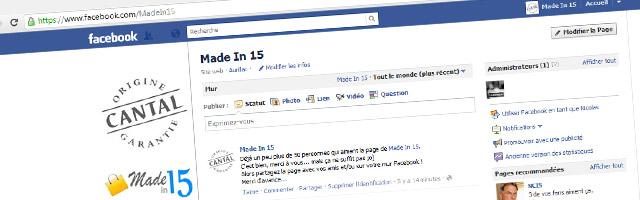 Plus de 50 personnes aiment notre page Facebook