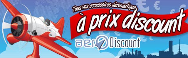Accessoires aéronautiques à prix discount
