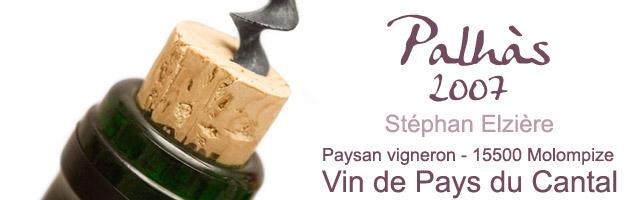 Palhàs : Vin de Pays du Cantal