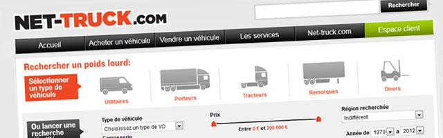 Net Truck : Annonces de camions d'occasion