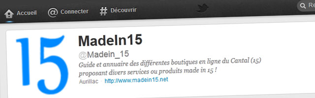 Madein15.net a été à l'agrégateur des sites auvergnats Greg