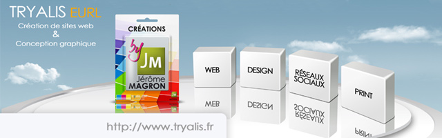 Tryalis : Création de sites web & conception graphique