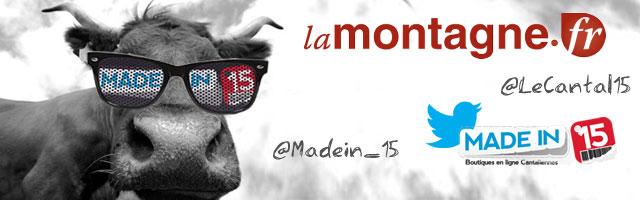 Madein15.net une nouvelle fois dans La Montagne