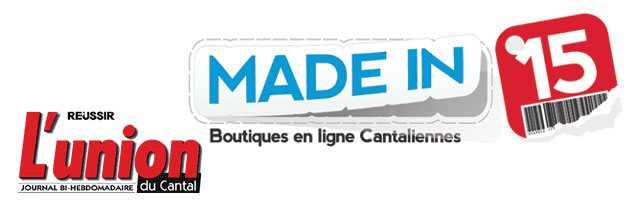 Madein15.net dans L'Union du Cantal