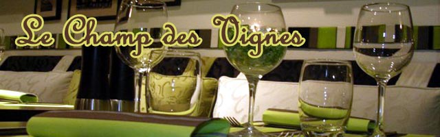 Le Champ des Vignes, restaurant Made in Cantal