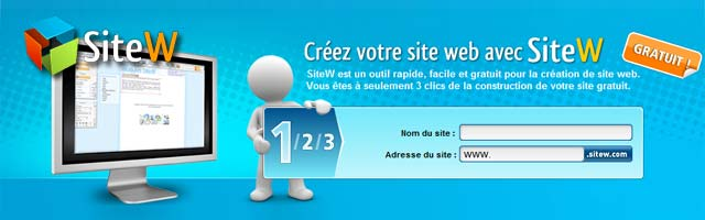 Cr ation de sites internet simple rapide et gratuit made for Idee creation site internet