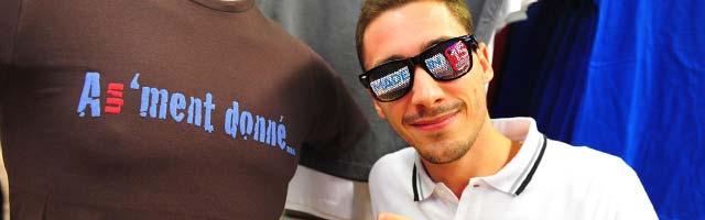 T-shirts A Un'ment Donné en magasin pour les fêtes !