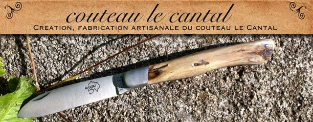 Charles Cibiel – Couteau Le Cantal