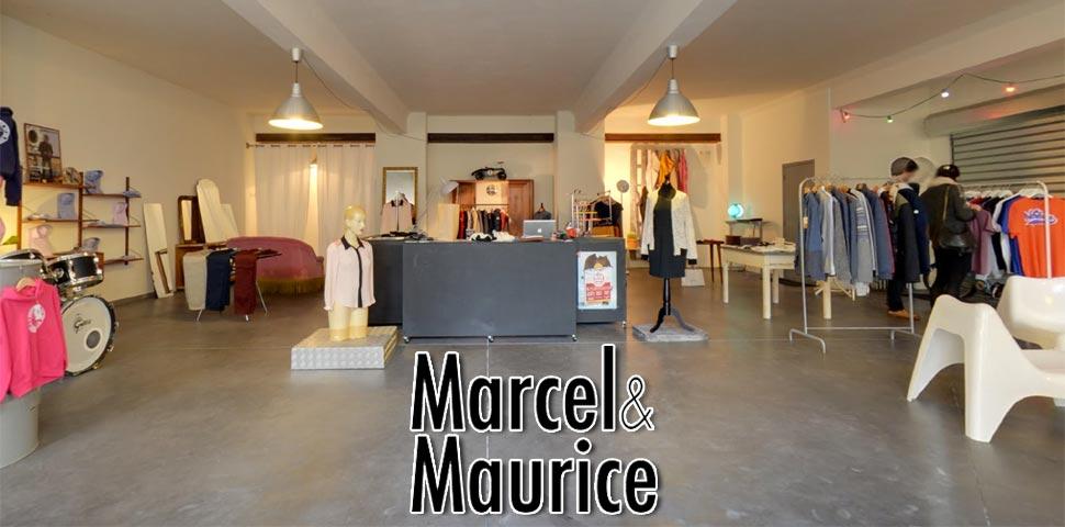 Marcel & Maurice : Concept Store sur Aurillac