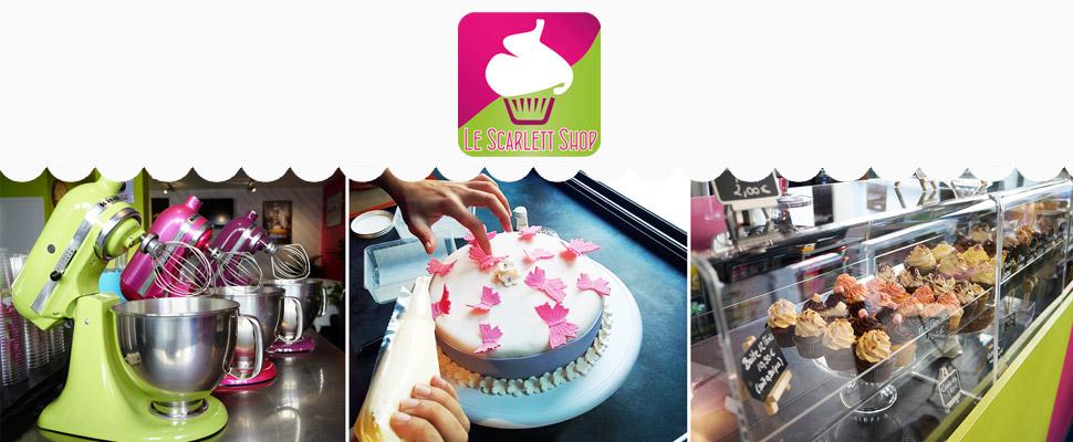Scarlett Shop : Le temple du CupCakes aurillacois