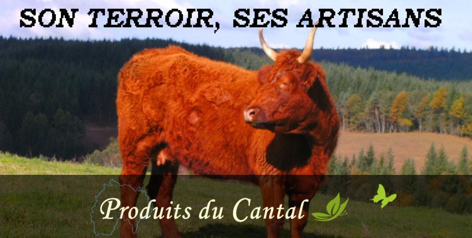 ProduitsduCantal.fr, spécialités culinaires et produits artisanaux du Cantal