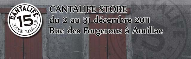 Pop-up Store Cantalife à Aurillac