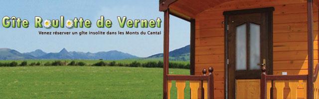 Destination Cantal en Gîte-Roulotte