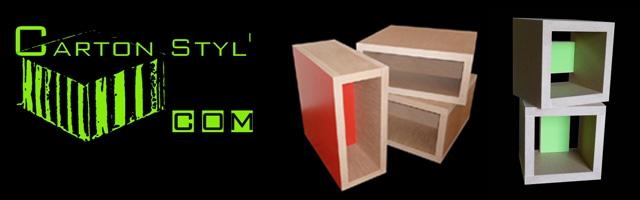 Carton Styl' : Meubles en carton alvéolaire