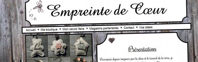 Empreinte de cœur : Bijoux artisanaux et fantaisie