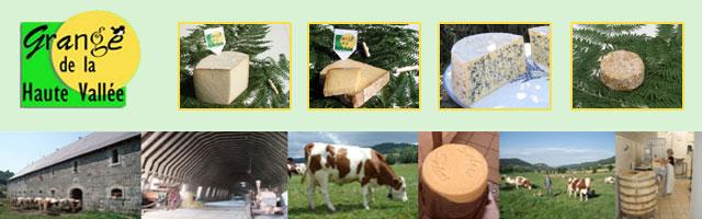 Fromage Cantal et Bleu d'Auvergne directement à la ferme