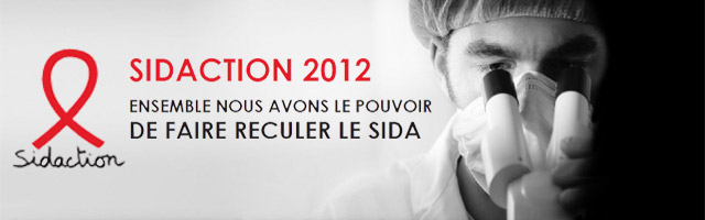 Sidaction 2012 : Vos dons au 110 ou sur Sidaction.org