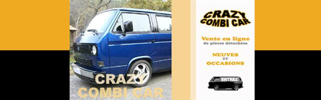 Crazy Combi Car : Pièces détachées pour Combi VW