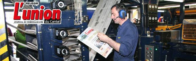 L'Union du Cantal : Journal d'informations générales et rurales