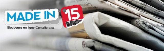 Espace Presse Madein15.net