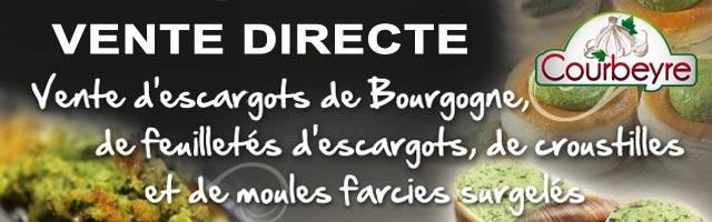 Vente directe usine d'escargots de Bourgogne